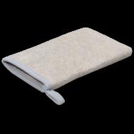 Sachet 1x Gant de lavage inox gris