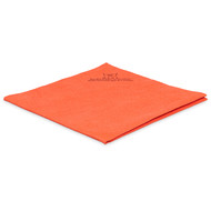 Non-woven microfibre 40 x 38 cm red (pack of 5)
