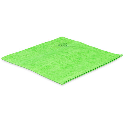 Non woven mikrofibra 40 x 38 cm zielona - ECO (zgrzewka 5 szt.)
