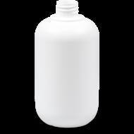Bottle polyethylene 500 ml white 28/410
