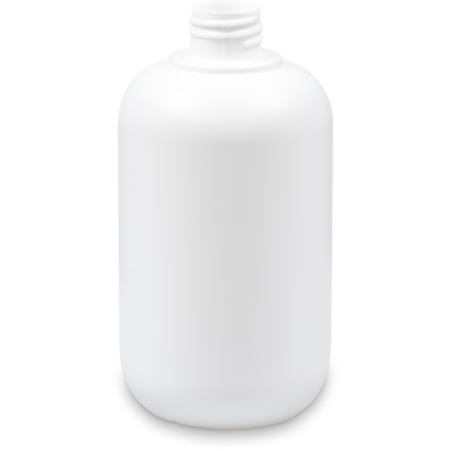 Fles 500 ml polyethyleen wit 28/410