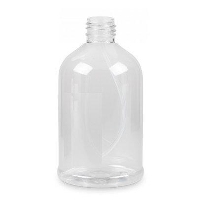 Fles 500 ml PET transparant 28/410