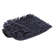 Washing glove Microfibre ''Rasta'' black