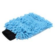 Washandschoen Microvezel ''Rasta'' blauw