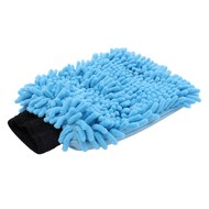Washing glove Microfibre ''Rasta'' blue