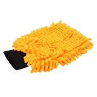 Mikrofaser-Waschhandschuh ''Rasta'' orange