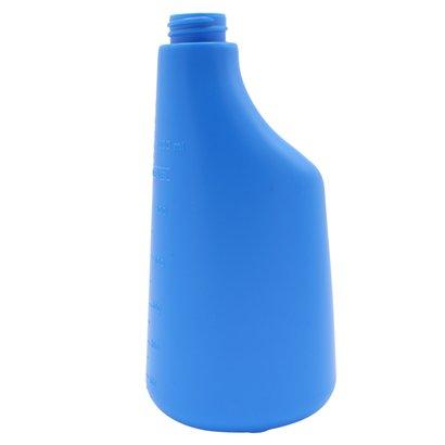 Fles 600 ml polyethyleen blauw