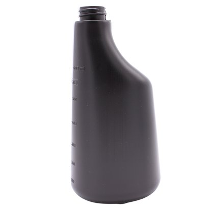600 ml butelka z polietylenu / czarna