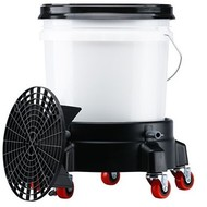 Bucket Filter - complete set (sieve, lid and bucket) including trolley