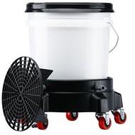Separator brudu z wiadrem i wózkiem - zestaw do bezpiecznego mycia samochodu