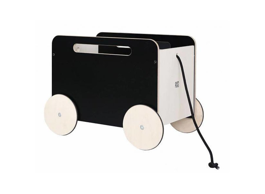 Ooh Noo Toy Chest on wheels Blackboard