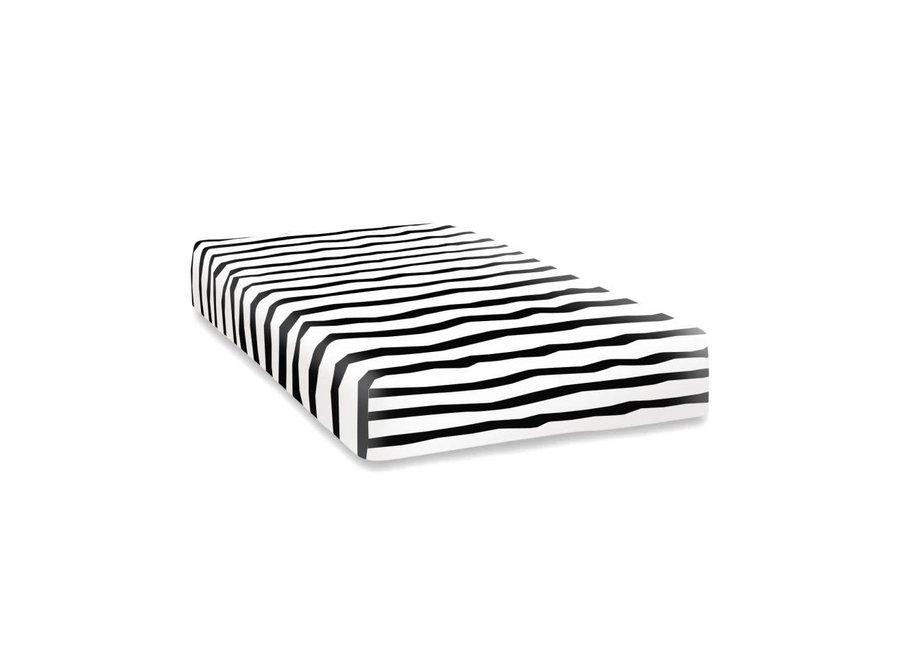 Hoeslaken Zebra voor babybed