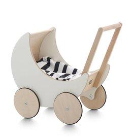 Ooh Noo Ooh Noo Houten poppenwagen