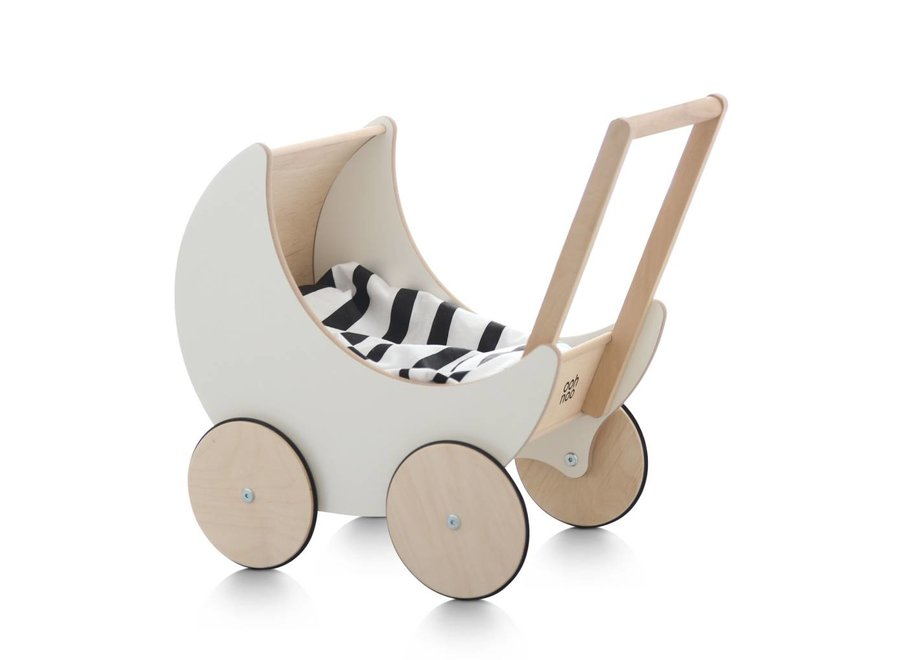 Ooh Noo Houten poppenwagen