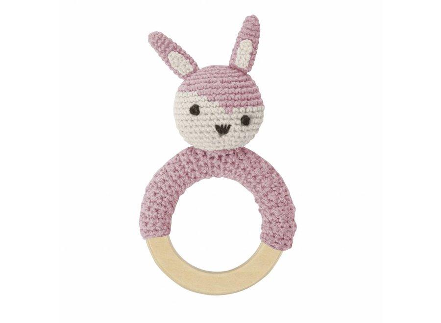 Rammelaar 'Pink Rabbit'
