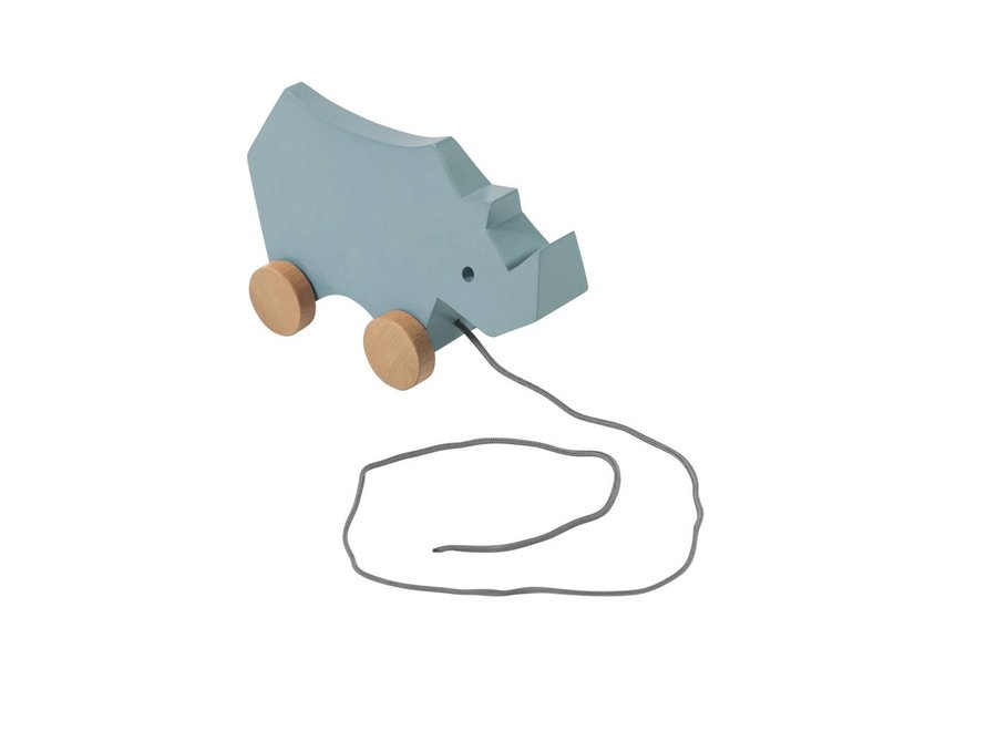 Trekdiertje Neushoorn