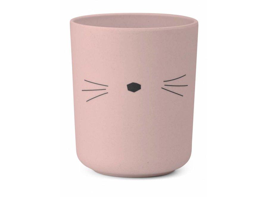 Liewood - Bamboo Set 'Cat Pink'
