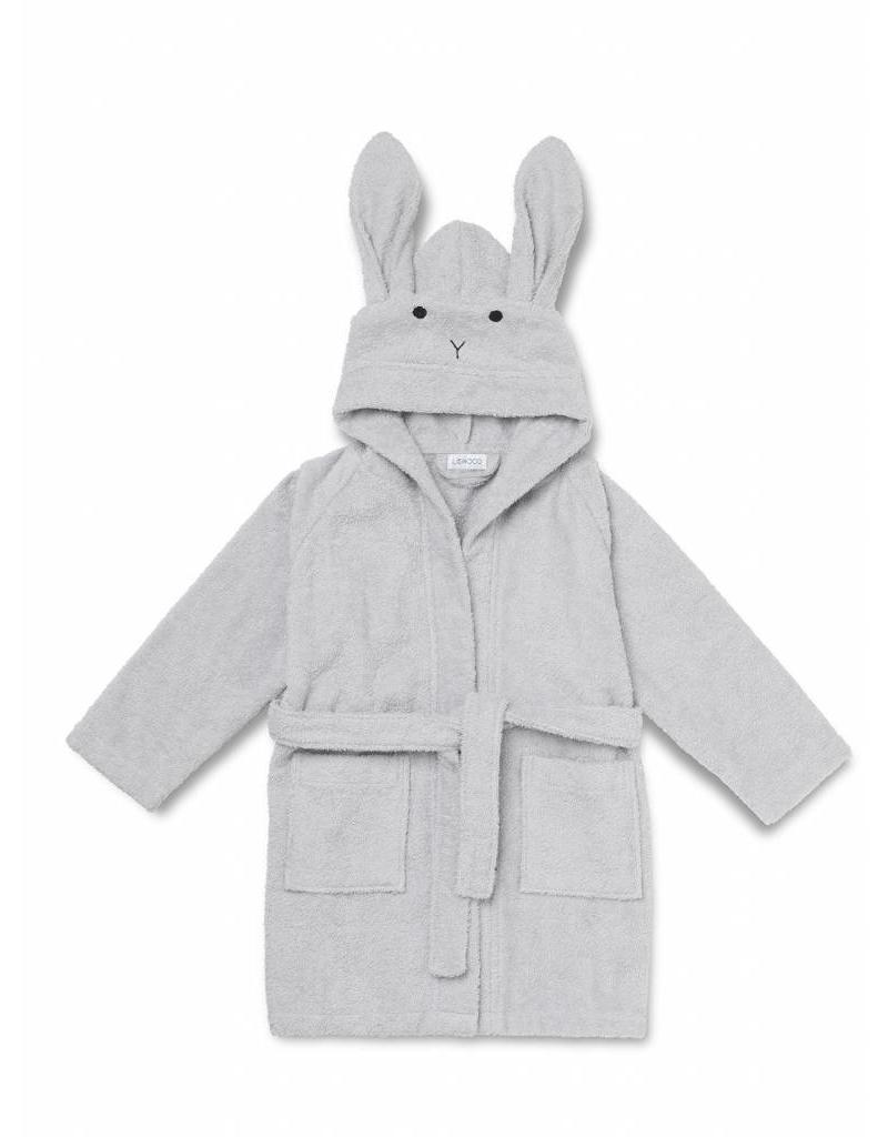 Liewood Liewood - Lily Bathrobe 'Rabbit Dumbo Grey' (3 tot 4 jaar)