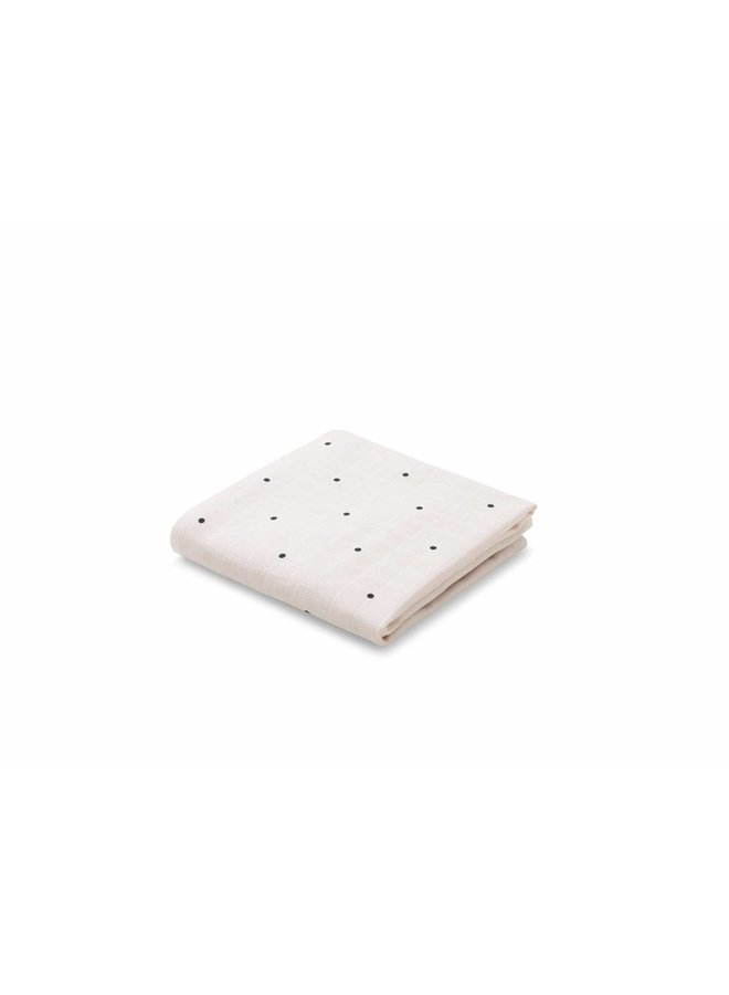 Liewood - Muslin cloth 'Classic Dot - Sweet Rose'