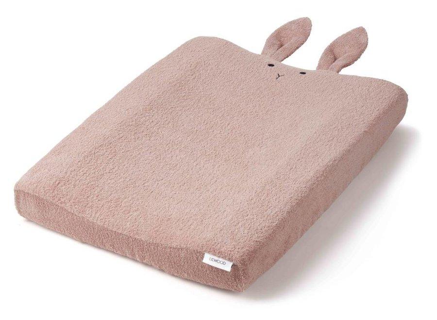 Hoes voor verzorgingskussen Rabbit 'oudroze'