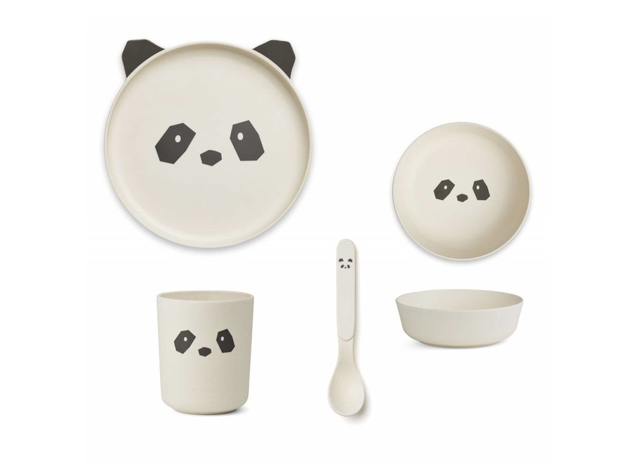 Liewood - Bamboo Box Set - 'Panda'