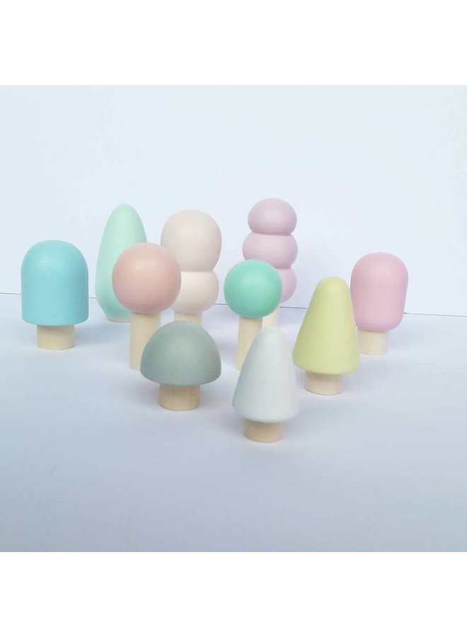 Ciaobambino - Little trees 'Pastel'