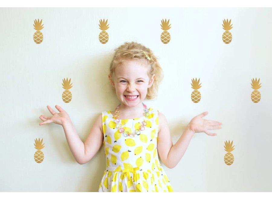 Pom Le Bonhomme Muursticker Ananas