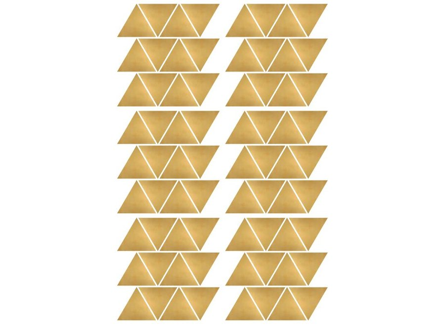 Pom Le Bonhomme - Muursticker Driehoekjes