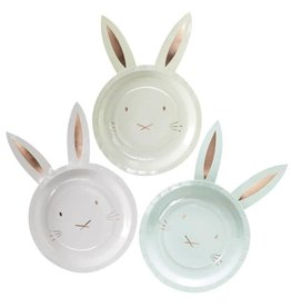 Ginger Ray Bunny plate with ears