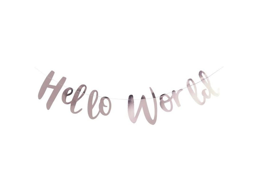 Hello World slinger