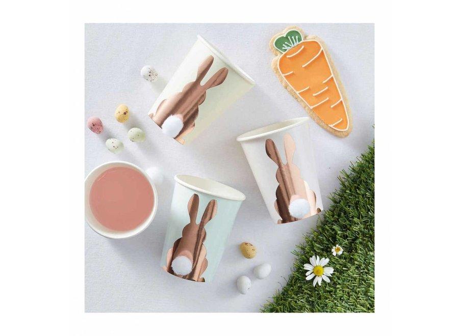 Feestdecoratie - Bunny cup