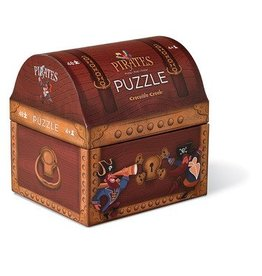 Crocodile Creek Puzzel Pirate treasure