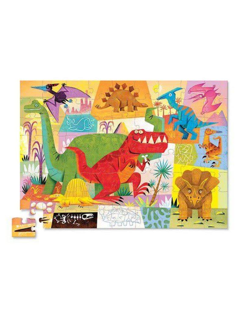 Crocodile Creek Crocodile Creek Puzzel 'Dinosaur' - 72 stuks