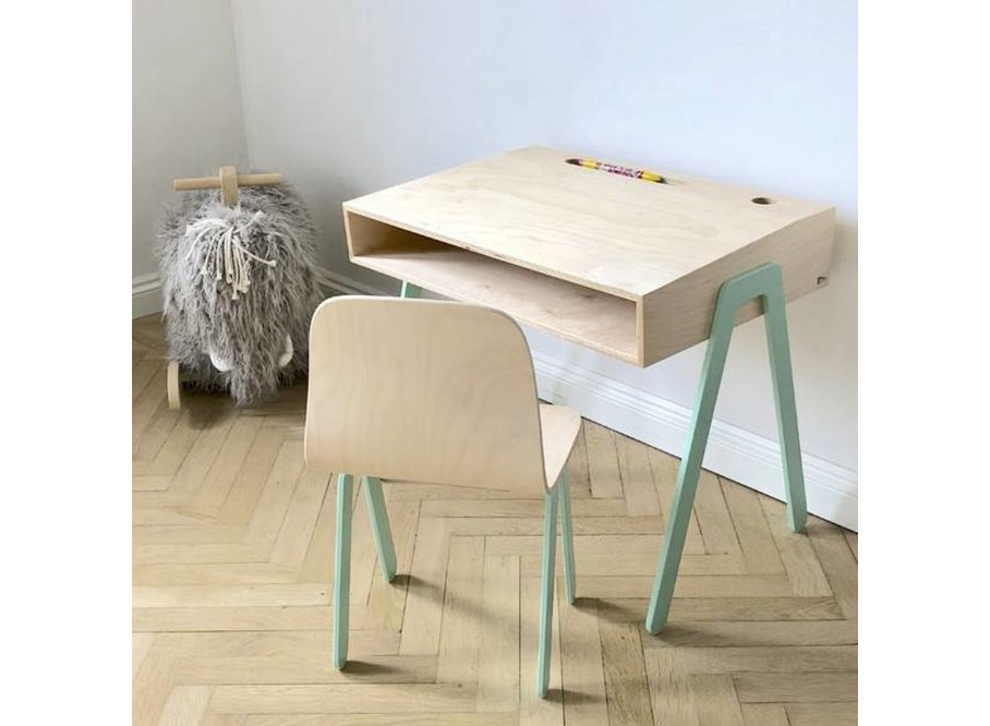 In2Wood - Desk and chair - Mint