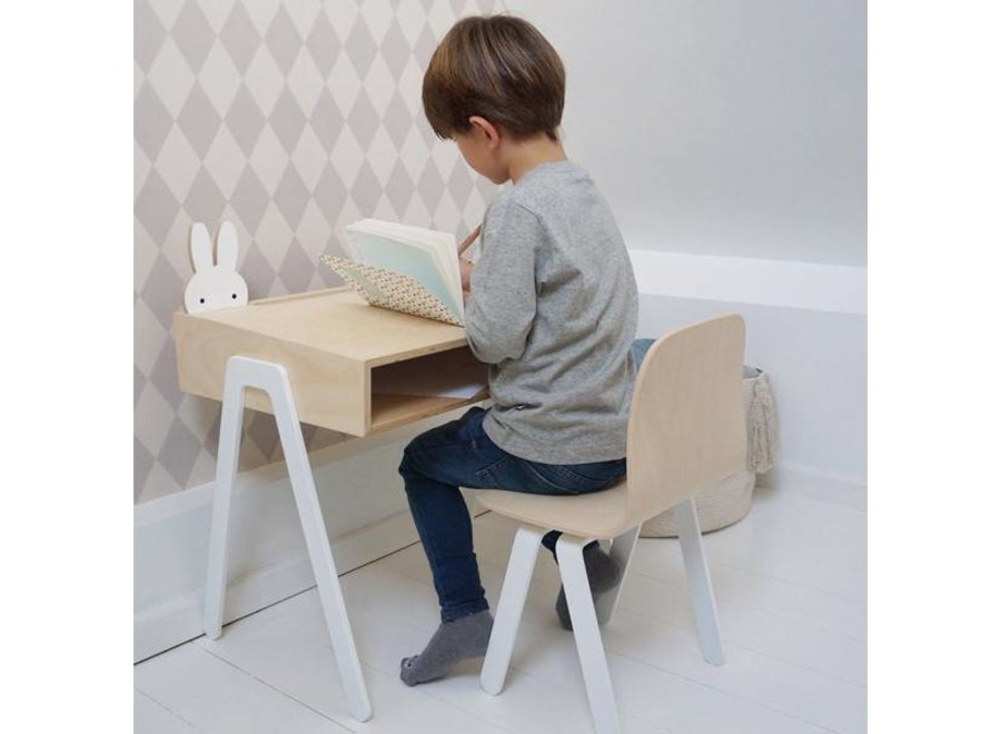 In2Wood - Desk and chair - White