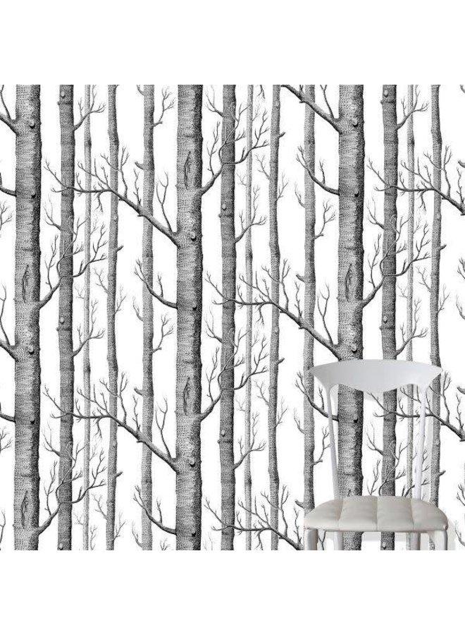 Behangpapier Woods