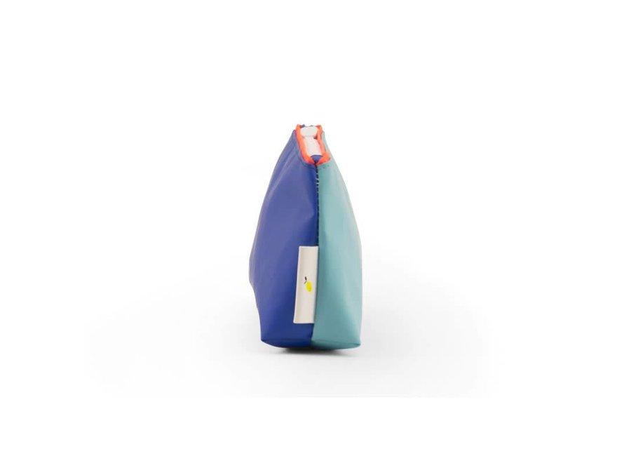 Pennenzak - Sticky Lemon - Ink blue/Retro mint - Large