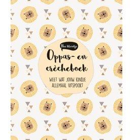 VERKOCHT Oppas- en crècheboek - Dooplijst