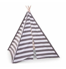 Childhome Tipi Tent - Stripes
