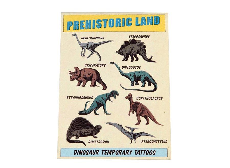 Tattoo Prehistoric Land
