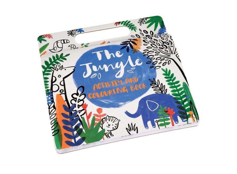 Jungle Colouring book