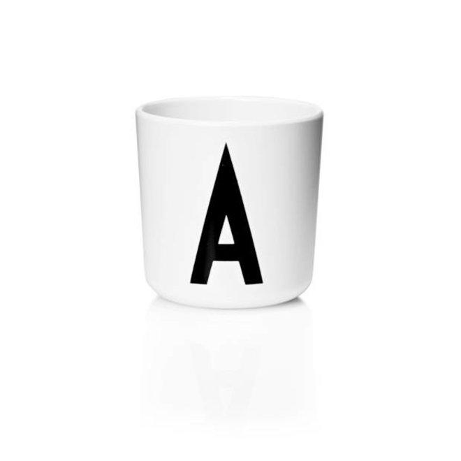 Design Letter - Drinkbeker A tot D