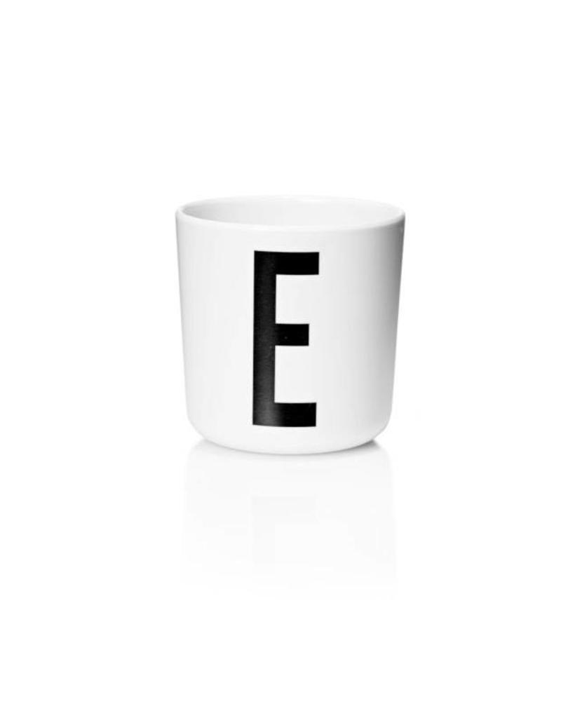 Design Letters Design Letter - Drinkbeker E - H