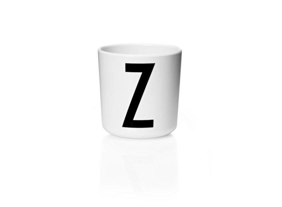 Design Letters - Drinkbeker V - Z