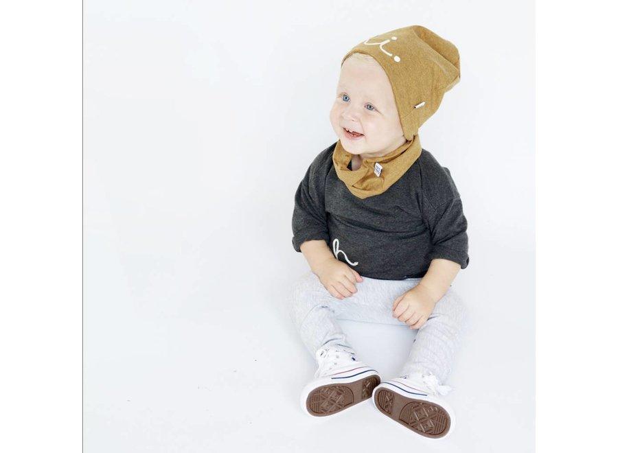 Aai Aai Infinity sjaal Mustard