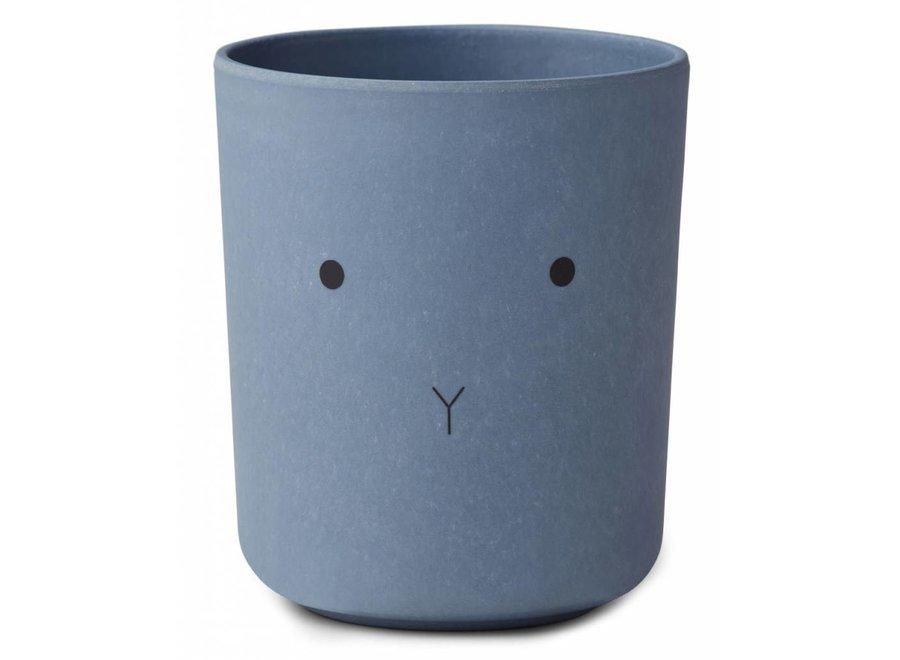 Liewood - Bamboo Set 'Rabbit blue wave'
