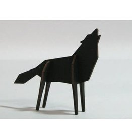 Atelier Pierre Nordic - Wolf - Small - Black Edition
