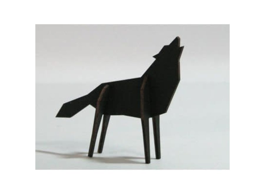 Nordic - Wolf - Small - Black Edition