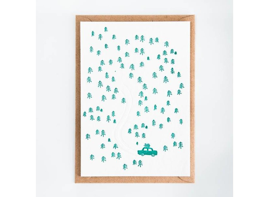 Kaart 'Tree hunting'