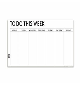 Design Letters Design Letters - Weekly Planner